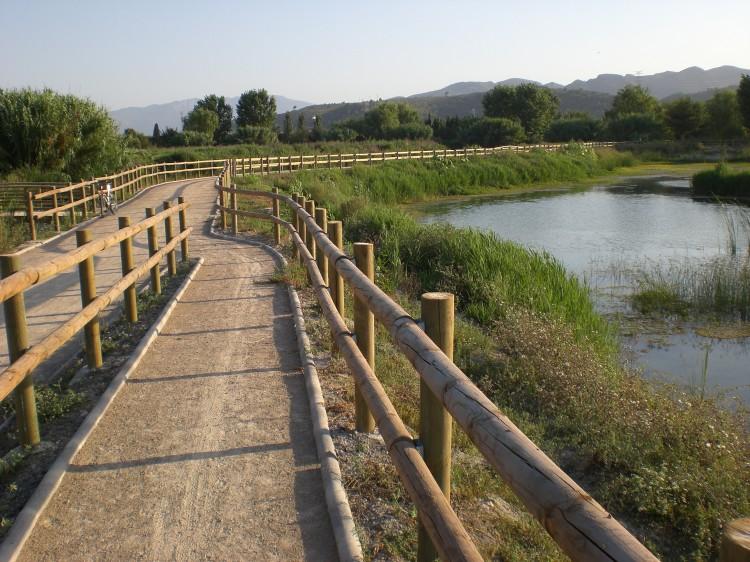 Rutas guiadas por espacios naturales de la zona.