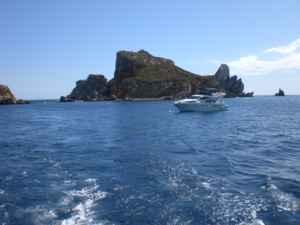 Buceando en las islas Medes