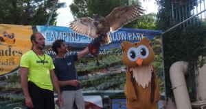 Disfrutando las montañas de Prades con Owly