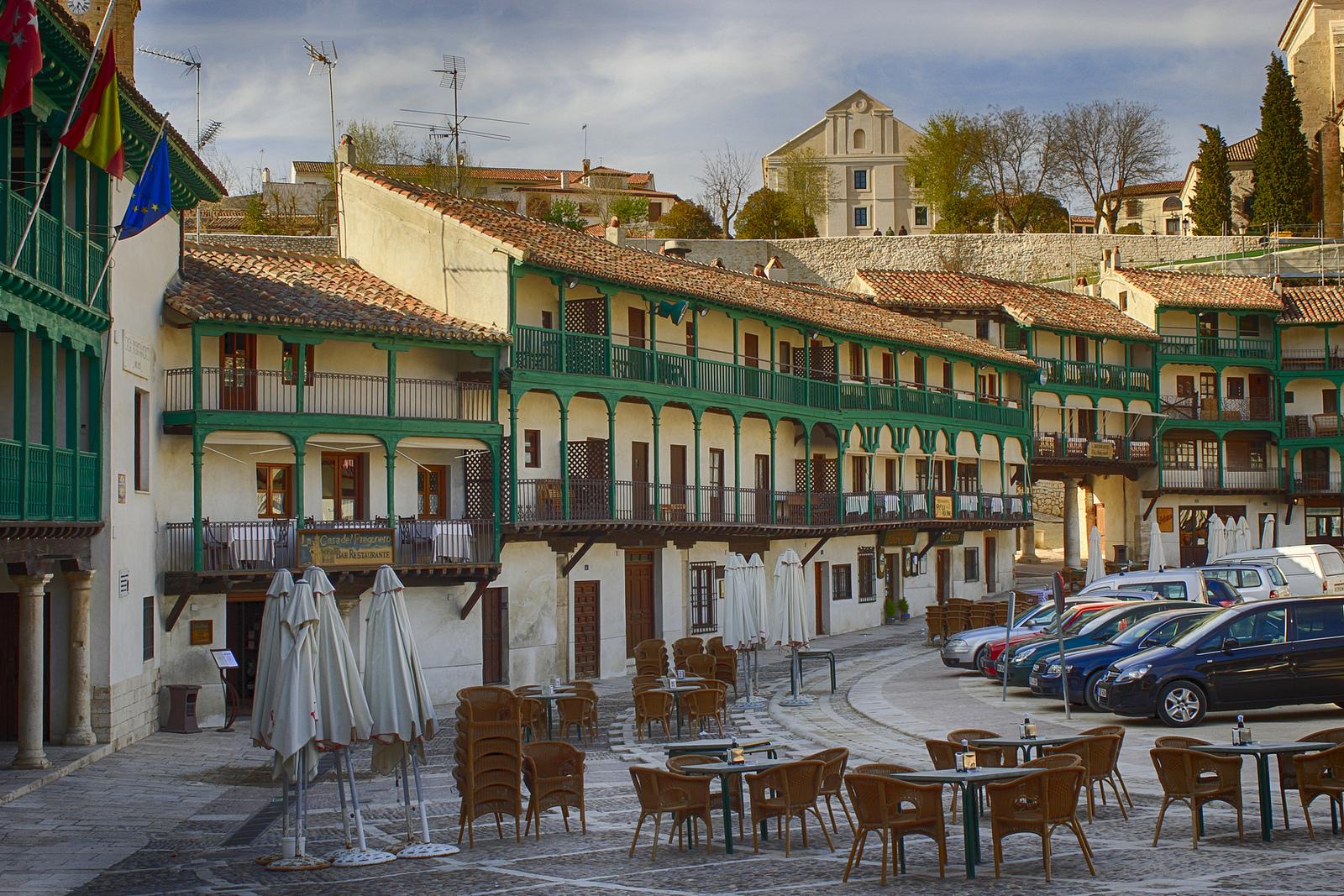 Chinch n el pueblo con una de las plazas m s bonitas del - Tarimas del mundo madrid ...