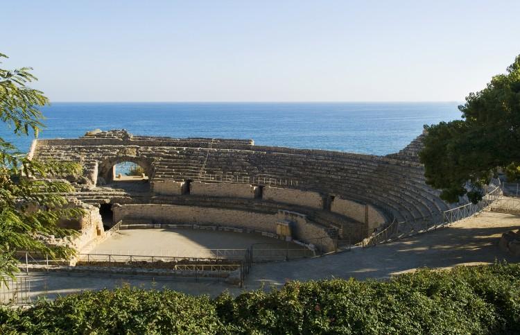 Anfiteatro romano, en Tarragona. © Alberich Fotògrafs.