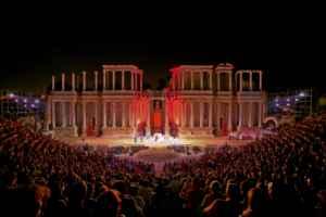 Teatro al aire libre en Mérida