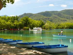 El lago de Banyoles, un paraíso de interior