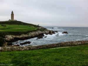 Miradas al infinito desde A Coruña