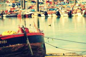 Paraíso marinero en la ría gallega