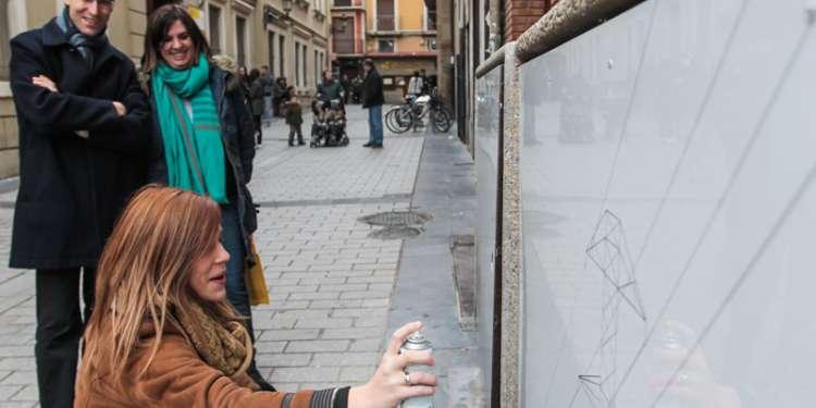 Escenarios a cubierto y al aire libre en el centro de Logroño.