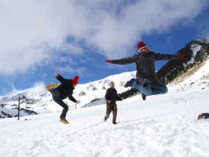 Los Pirineos más orientales: nieve en Vallter 2000