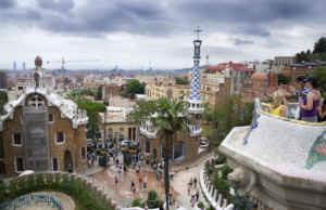 El Parc Guëll, una de las zonas verdes más famosas de Barcelona