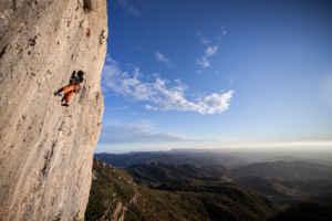 Escalada en la sierra de Montsant