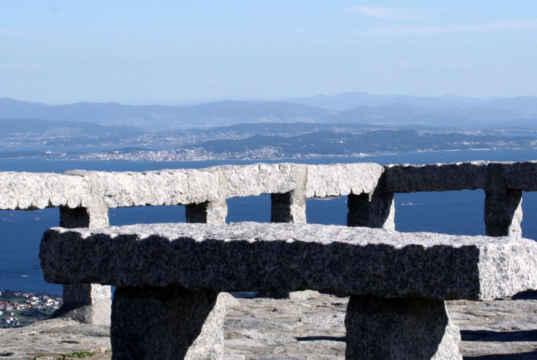 Las Rías Baixas a vista de pájaro