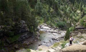 En el parque nacional de Ordesa y Monte Perdido