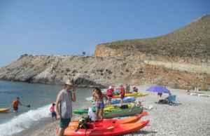 Recorre la Costa Tropical, ¡en kayak!