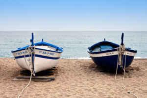 Pineda de Mar, vacaciones en familia