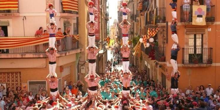 Diada Castellera de Sant Magí 2011 a Tarragona