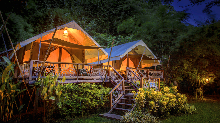 La moda del glamping - Camping interior tarragona ...