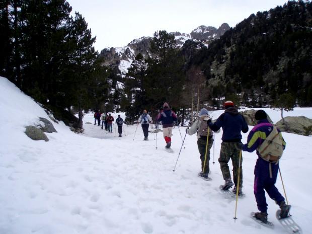 Nieve Aiguestortes