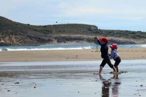 Ni__os en Playas Cabo de Gata