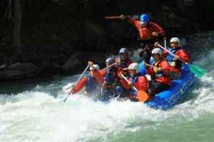 Rafting en el Pirineo Aragonés