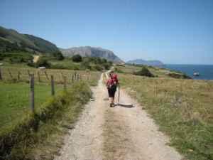 El Camino de Santiago desde un camping