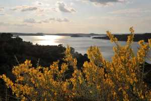paisaje mar de aragon