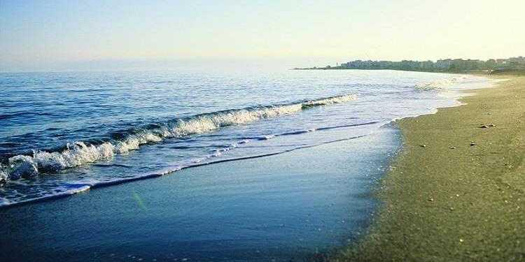 playa Poniente Torre del mar