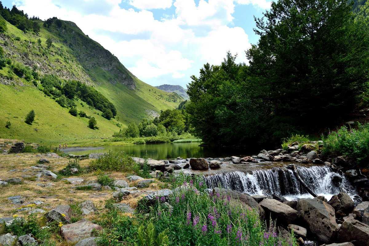 Un verano de camping en el val de ar n - Inmobiliarias valle de aran ...