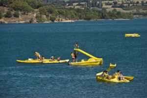 Diversión y relax en el lago de Barasona