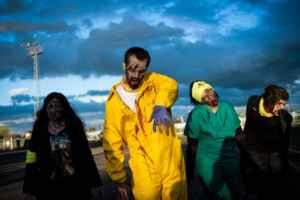 Los zombies invaden Teruel